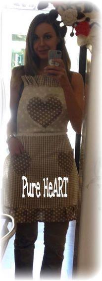 Care ragazze...voglio mostrarvi i miei nuovi grembiuli da cucina...perche le vere Pure HeART devono essere sempre impeccabili!             ...