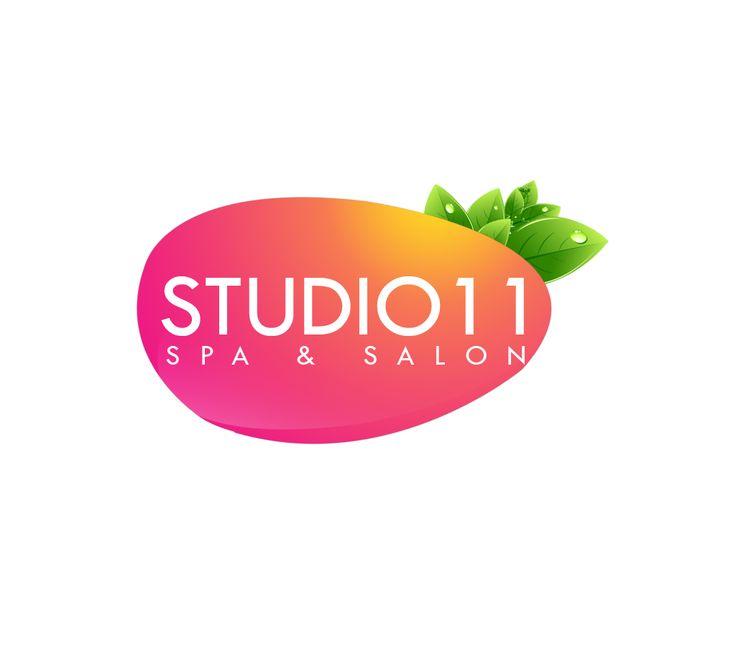 Logo for studio11 salon and spa