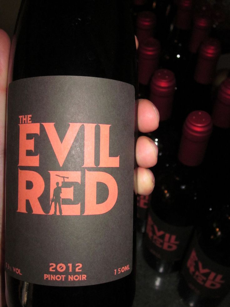 Undead Wine - The Evil Red - Pinot Noir