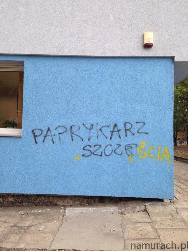 Paprykarz - graffiti Wrocław #paprykarz #graffiti #Wrocław