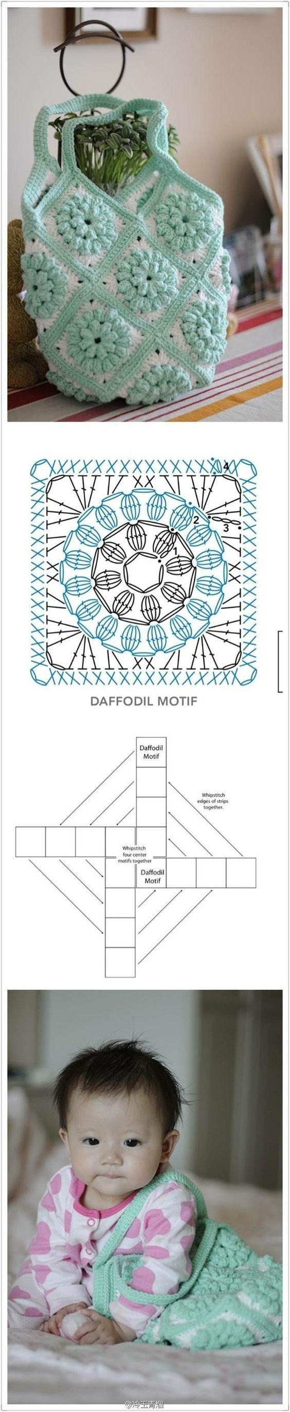 bag crochet pattern: