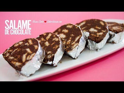 Salame de Chocolate   SaborIntenso.com