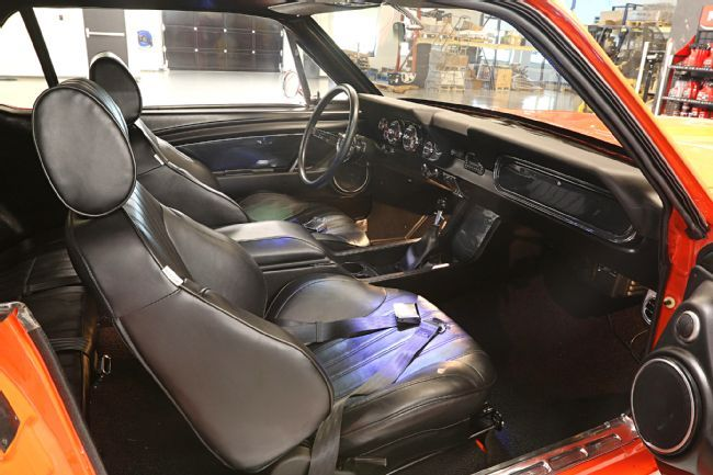 With a combination of parts from Mustangs To Fear, Scott Drake, Painless Performance, Lokar, and ProCar by Scat we transform the interior of our 1966 Mustang hardtop from stock to trick. Find out how we did it!