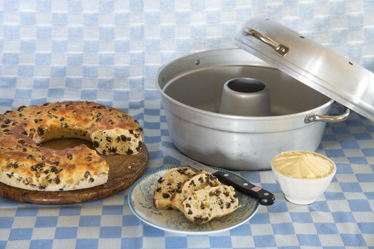 De nostalgische #wonderpan is weer verkrijgbaar in een nieuw jasje!  Heerlijke cakes bakken op het gasfornuis!