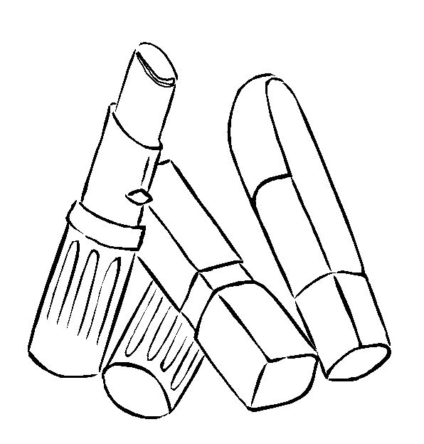 free fashion beauty coloring pages