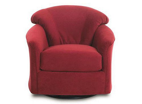 The Klaussner Swivel Glider Chair Is The Perfect Solution To Your Small  Space. This Chair Offers Stylish Comfort With Low Profile Arms And A Tight  Back.