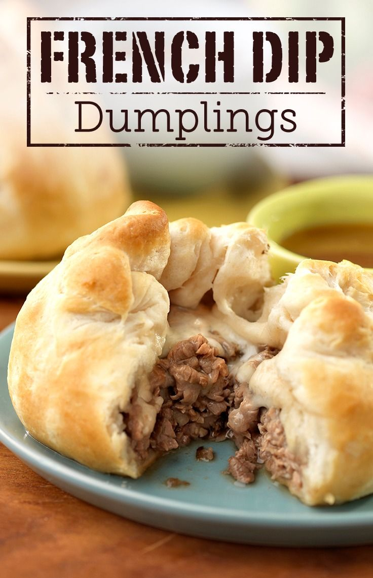 This easy and delicious French Dip Dumplings recipe is flavorful and can be made in a few simple steps. Check it out!