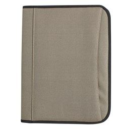 Alpine Compendium. Zippered compartment with writing pad, pen holder, business card holder, calculator and zippered pocket, Front cover pocket. 420 Denier Nylon/PU Nylon Fabric http://catalogue.davarni.com.au/Products/Search/Products?textSearch=&category=12151&