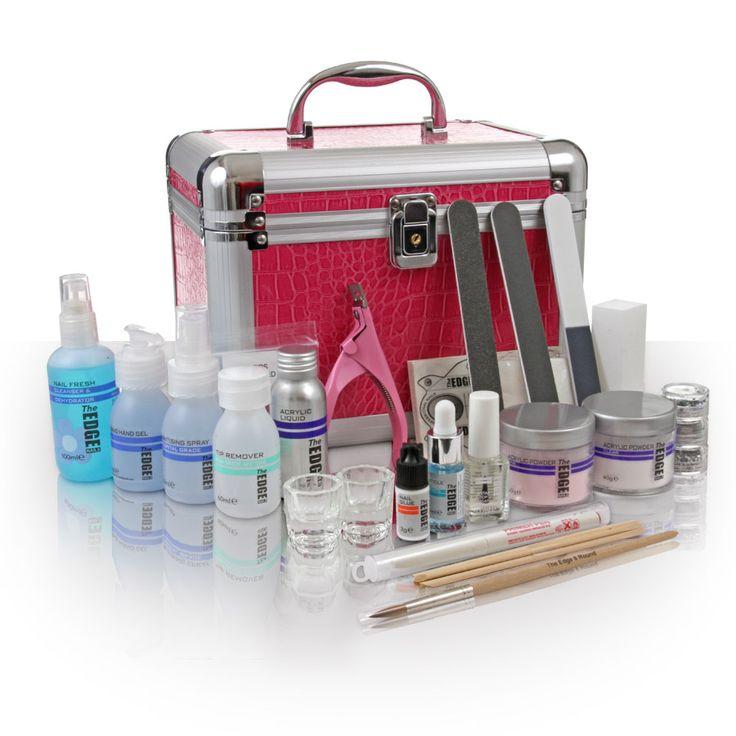 Safari Glitterati acrylic nail kit - acrylic nail kits - glitter acrylics UK