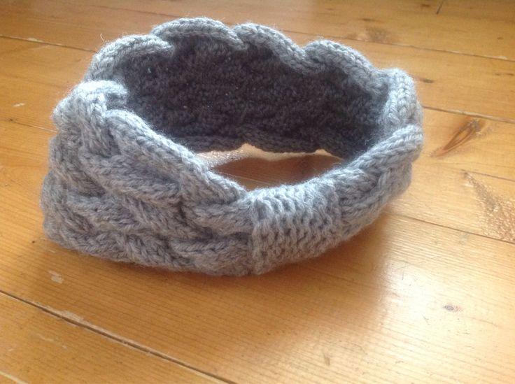 Bandeau pour femme, tricoté à la main, idéal pour l'hiver   8$