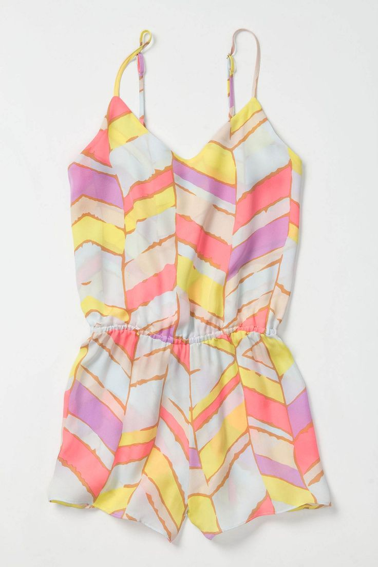 This would look great with amykathryn's Lily Apricot: Chevron Rompers, Summer Rompers, Dreams Closet, Summer Style, Color, Jumpers, Outfit, Summer Chevron, Cute Rompers