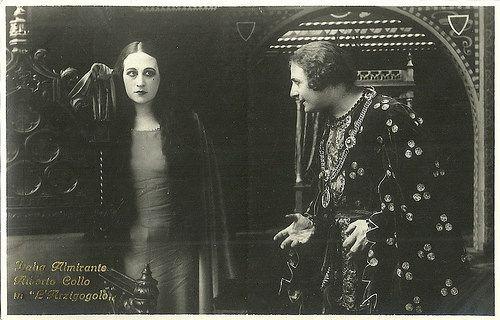 Italia Almirante and Alberto Collo in L'arzigogolo 1924