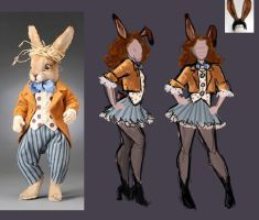 March Hare Costume Concept by jezzy