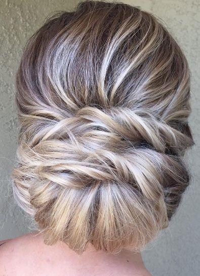 Featured Hairstyle: Heidi Marie Garrett; www.hairandmakeupgirl.com; Wedding hairstyle idea.