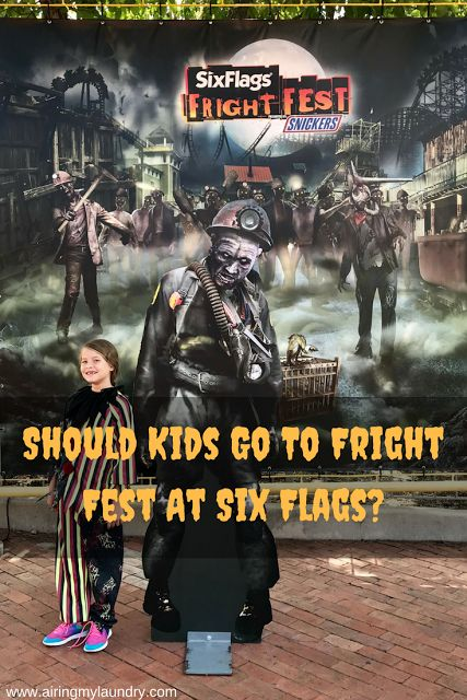 So SHOULD kids go to Fright Fest at Six Flags?