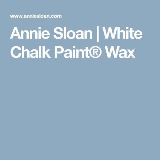Annie Sloan | White Chalk Paint® Wax