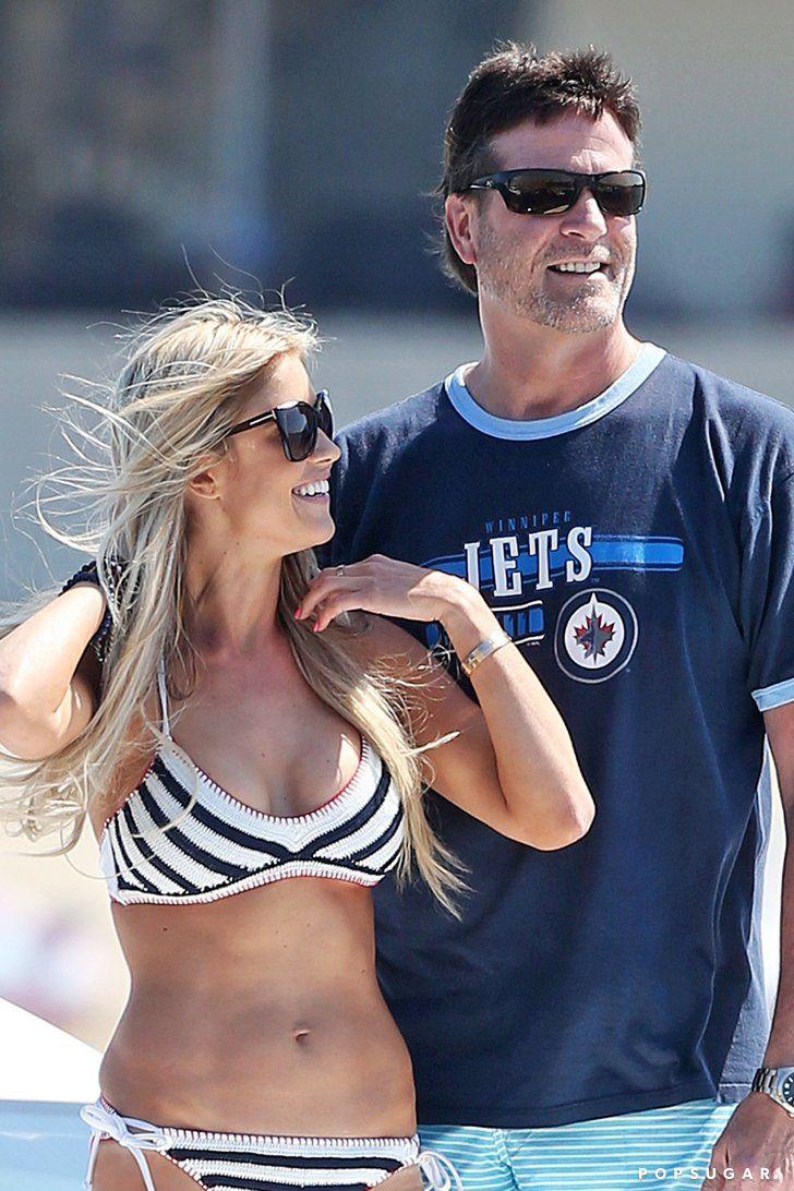 Christina El Moussa Flaunts Her Bikini Body (and New Boyfriend) in Newport