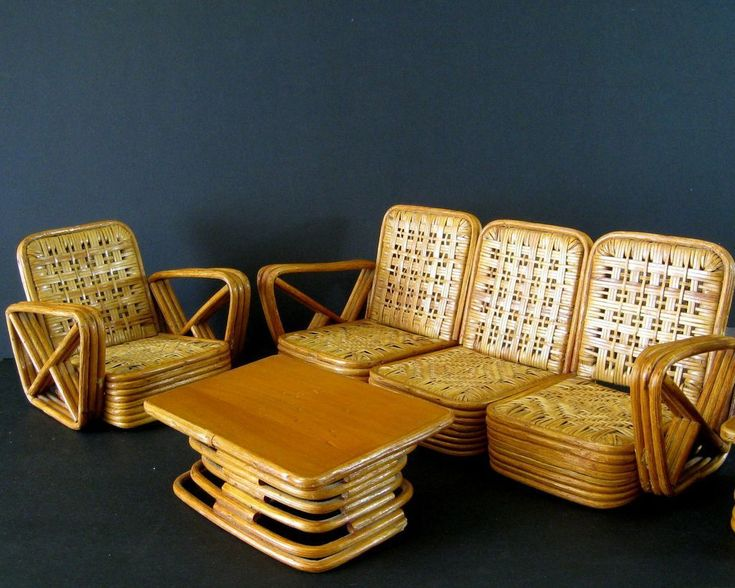 Image of  Vintage Florida Rattan Furniture. 113 best Rattan images on Pinterest   Rattan  Lounge chairs and