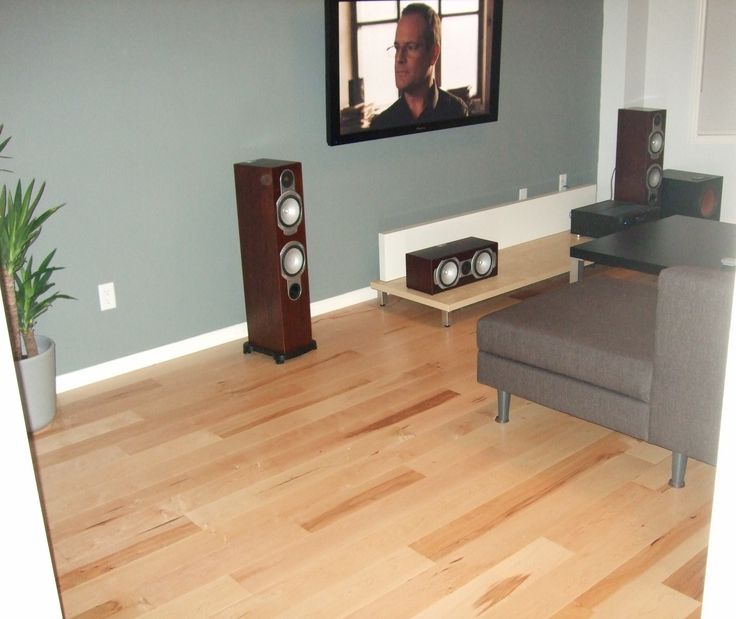 Natural maple floor blue green walls and white trim for Hardwood floors with white trim