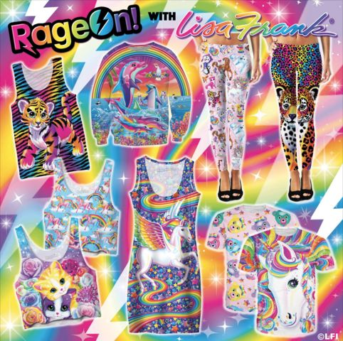 Child of the 90s? Lisa Frank launches new clothing line, adult coloring  book - WXYZ.com There goes my money!!