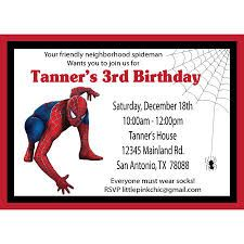 The 25 best spiderman birthday invitations ideas on pinterest spiderman birthday invitations stopboris Image collections