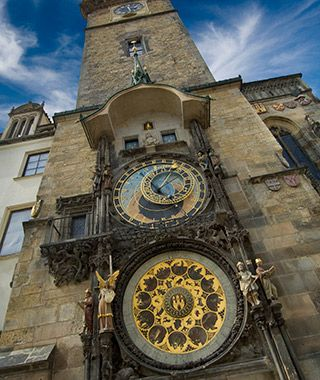 World's Most Beautiful Clock Towers: Old Town Hall Tower, Prague