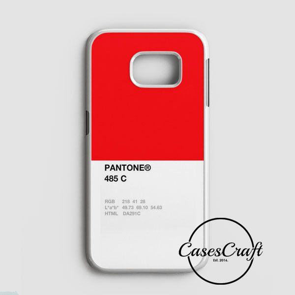 Pantone 485 C Samsung Galaxy S7 Case | casescraft