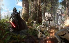 Wallpapers HD: Star Wars Battlefront Darth Vader