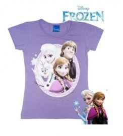 Disney Frozen T-shirt  - paars -