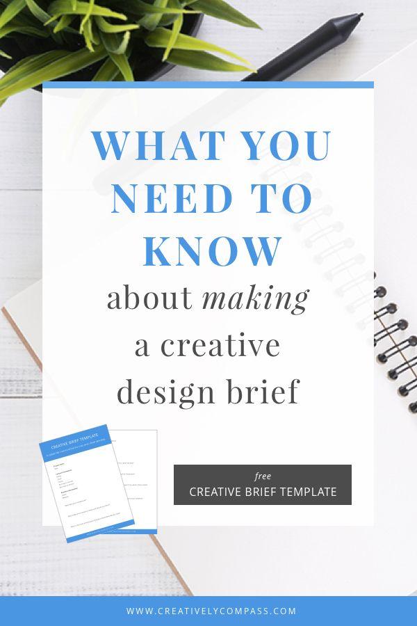 Best  Creative Brief Template Ideas On   Design Brief