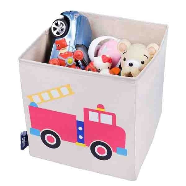 Children S Storage Cubes Fire Engine Kids Storage Cubes Becky Lolo Cube Storage Kids Storage Baby Clothes Organization