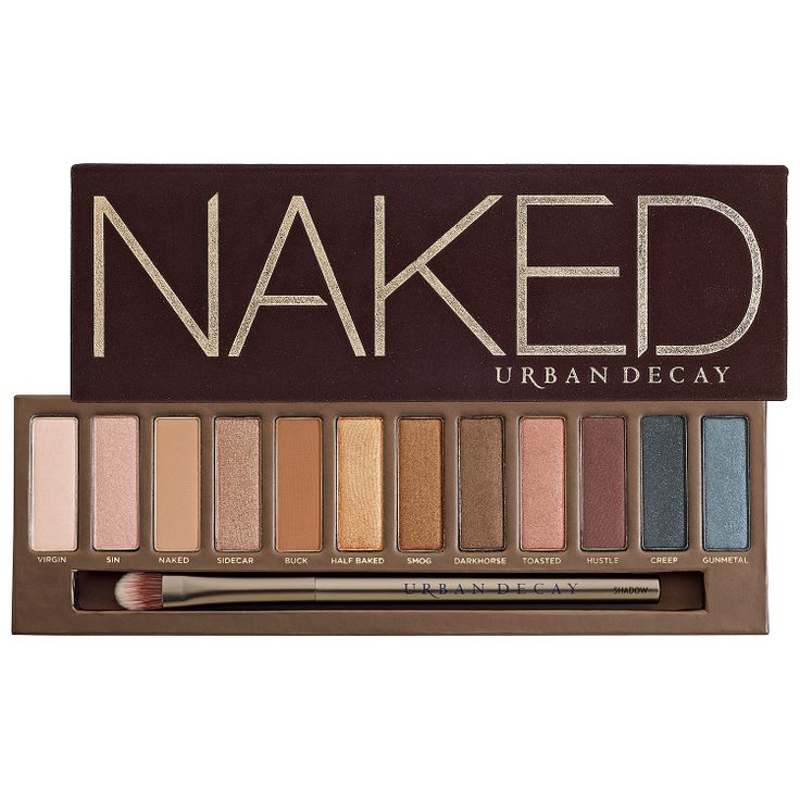 naked palette urban decay sephora makeup pinterest