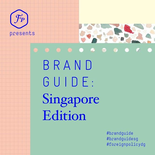 The word's out on the street — our year-long #MuchDelayed #EditorialDesign project is finally out at the press. Follow @brandguide for launch info and updates. #BrandGuide #BrandGuideSG #ForeignPolicyDesign