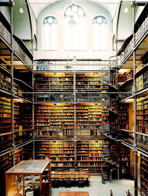 Rijkmuseum Library, Amsterdam.  Candida Hoffer.  My dream