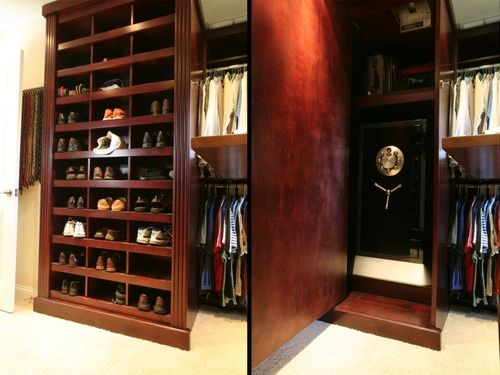 Beautiful Bookcase Doors, Revolving Fireplaces, Pool Cue Doors, Hidden Walls And Many  More Secret Passageways Have Been Created For Clients Throughout The Years!