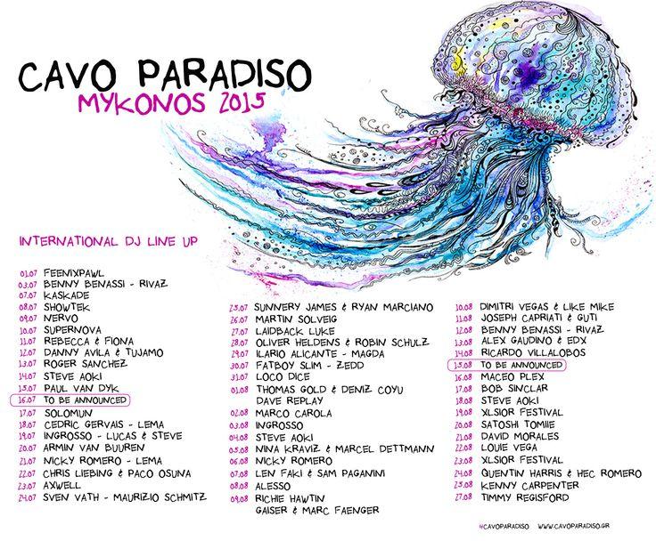 Cavo Paradiso | Night Club – Mykonos |