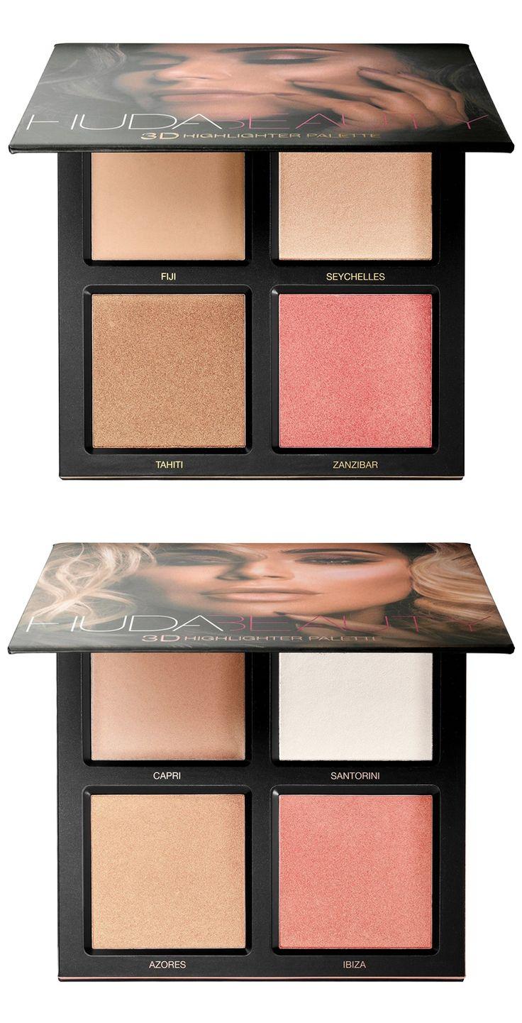 Huda Beauty 3D Highlighter Palette Arriving at Sephora