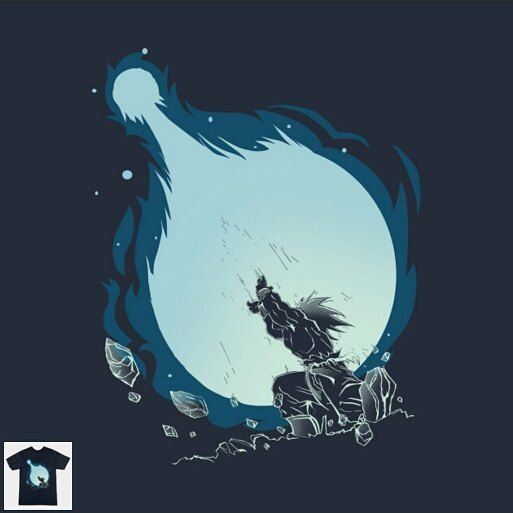 "Share it with your Friends! :D -> ""Kamehameha"" designed by @itsdanielle91 <- #dragonball #todayisateeday"