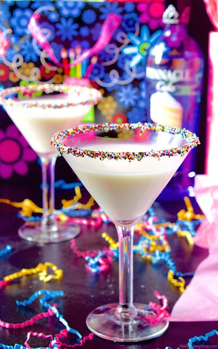 Birthday Cake Martini Recipe Birthday cake martini Martinis
