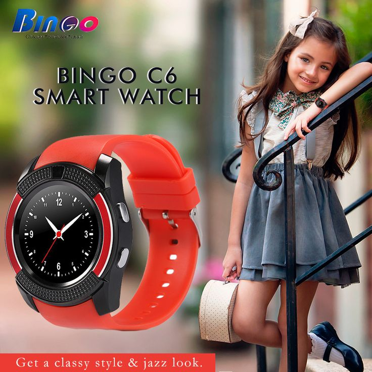 #Bingo #C6 #Smartwatch Get a good health and maintain your lifestyle with Bingo fitness band-cum-smartwatch..! For more information, Visit: http://amzn.to/2dcOUIm