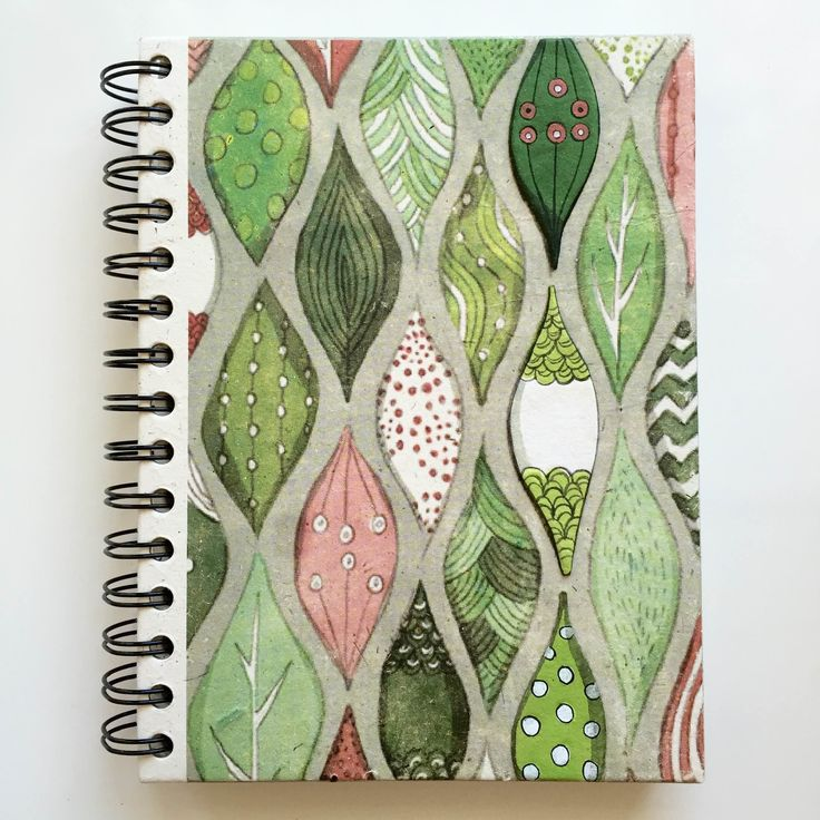 Mr. Ellie Pooh Leaves Large Notebook Journal