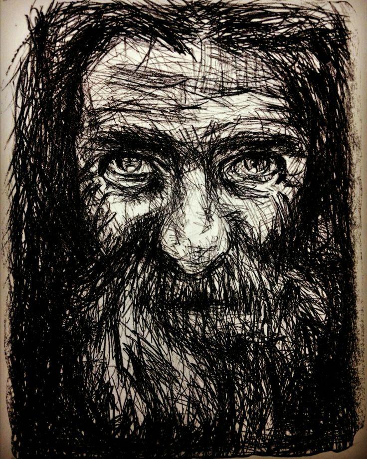 Portrait retrato old man