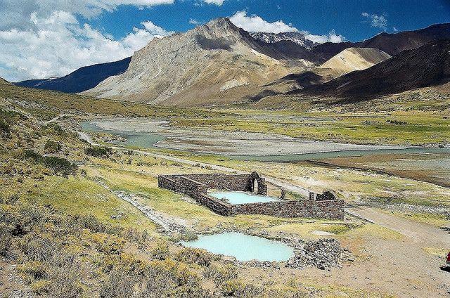 Las Termas del Sosneado, Mendoza, Argentina