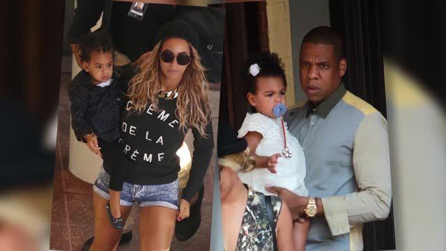 Hijos de Famosos: Blue Ivy - Jay-Z y Beyoncé