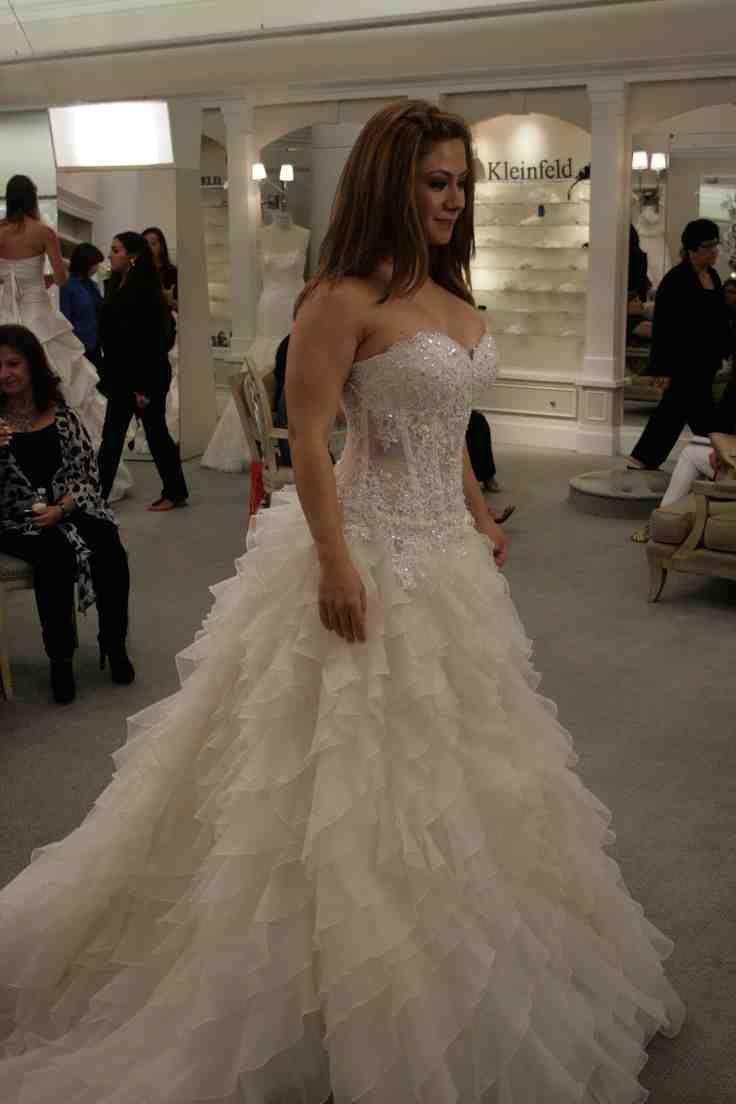 Used Pnina Tornai Wedding Dress