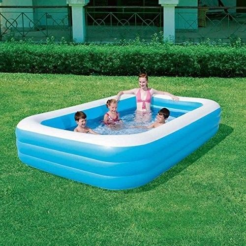 Inflatable Family Pool Above Ground Swim Centre Outdoor Garden Kids Fun Summer