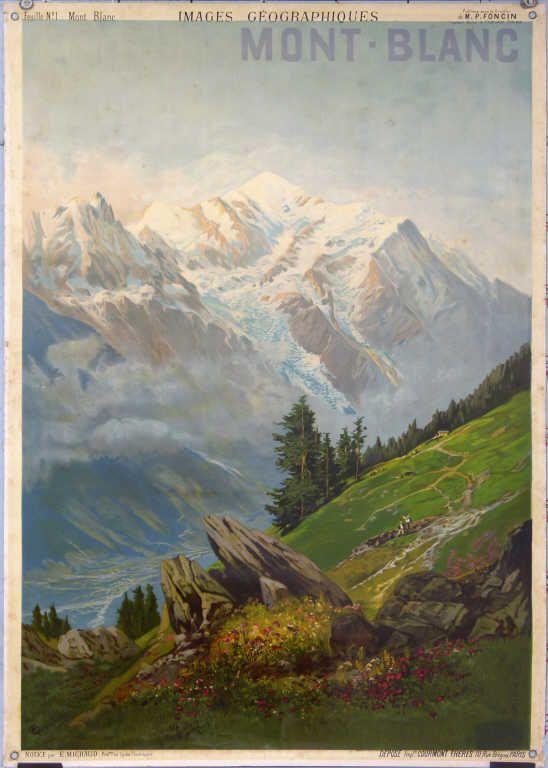 H. Tanconville, Mont Blanc
