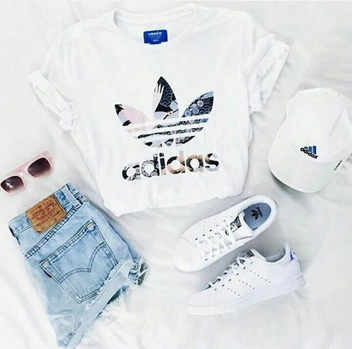 beautiful, outfits, and adidas image