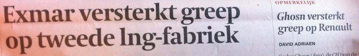 Spotted in De Tijd