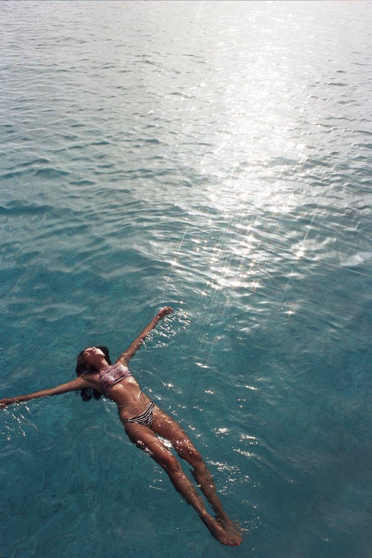 summer, love, sea, beach, Model,